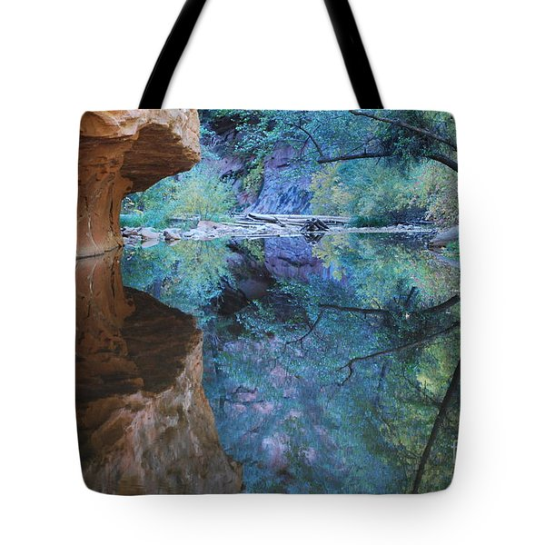 Fully Reflected Tote Bag by Heather Kirk