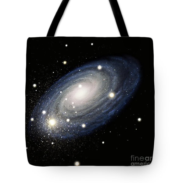 Galaxy Tote Bag by Atlas Photo Bank and Photo Researchers