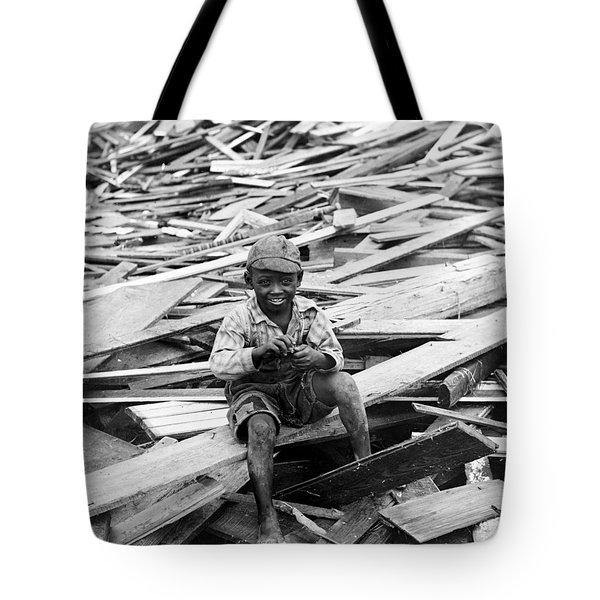 Galveston Flood Survivor - September - 1900 Tote Bag by International  Images