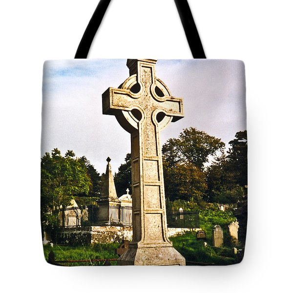 Galway Monastic Ruins 1 Tote Bag by Douglas Barnett