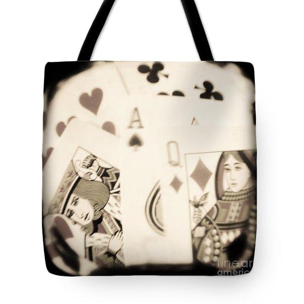 Gambit Tote Bag by Andrew Paranavitana