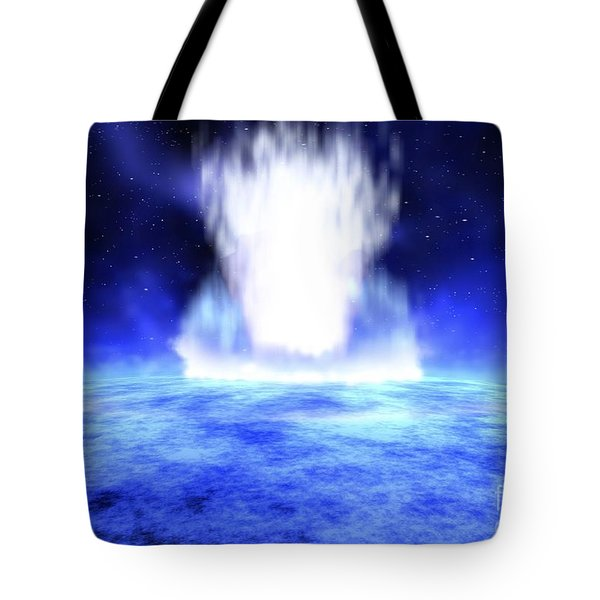 Gamma Ray Burst Erupts From Star Tote Bag by NASA / Science Source