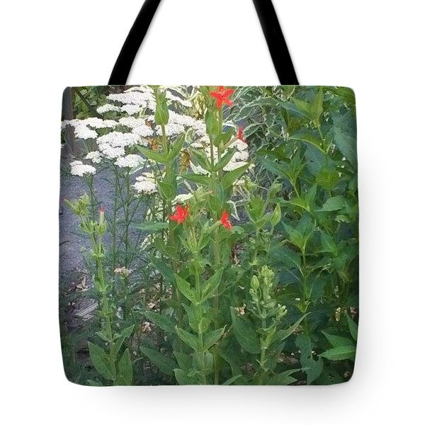 Garden Flowers Mix  In Nature Tote Bag by Thelma Harcum