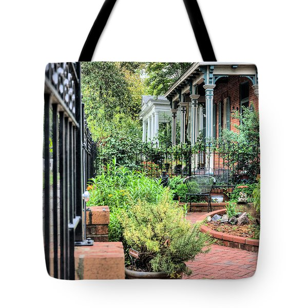 Garden Party Tote Bag by JC Findley