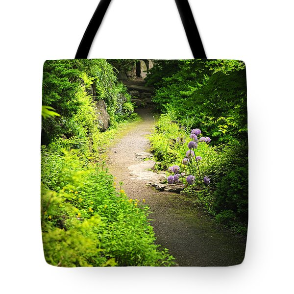 Garden Path Tote Bag by Elena Elisseeva