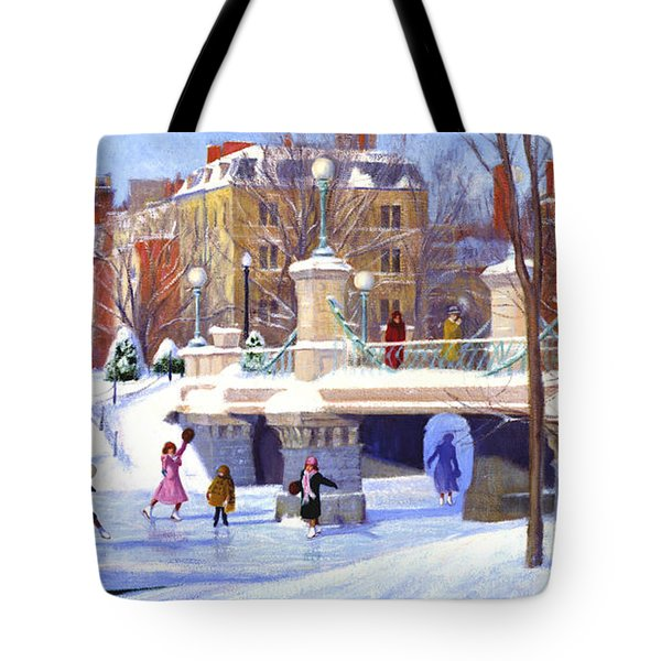 Garden Skaters Tote Bag by Candace Lovely