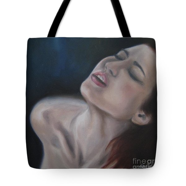 Gasp Tote Bag by Jindra Noewi