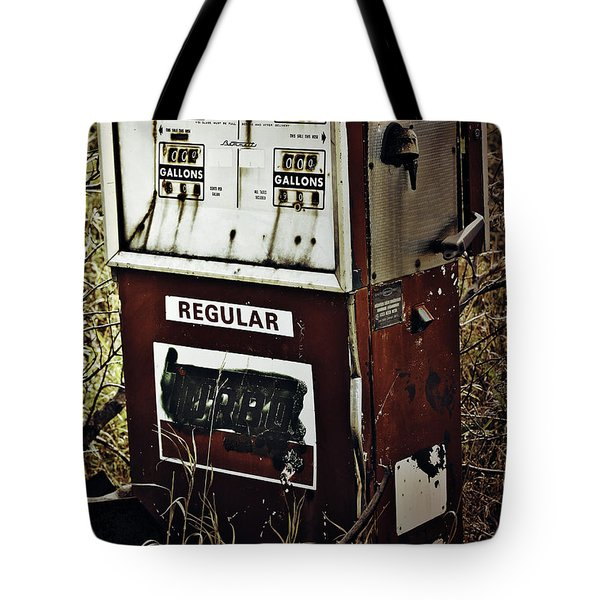 Gaspump  Tote Bag by Jerry Cordeiro