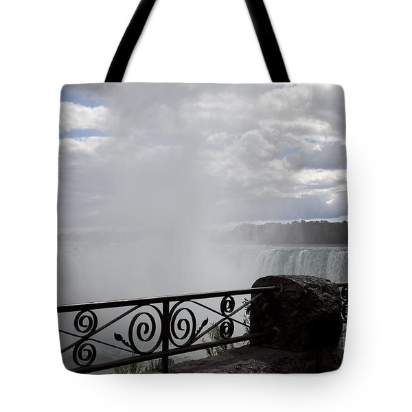 Gate To Fall Tote Bag by Amanda Barcon