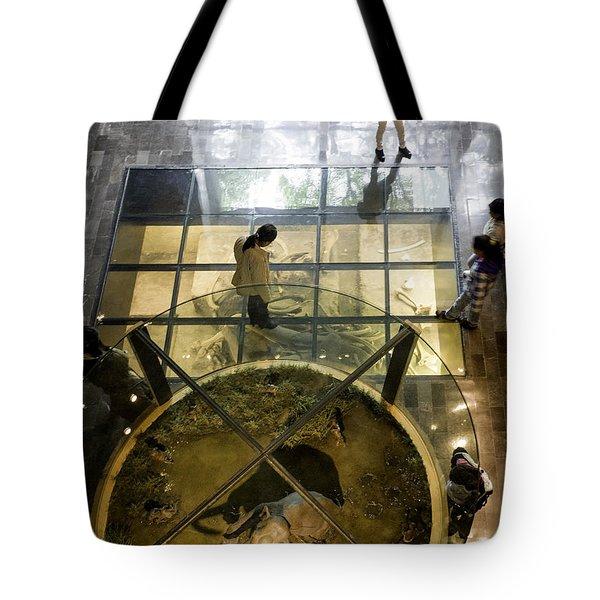 Gate To The Underworld Tote Bag by Lynn Palmer