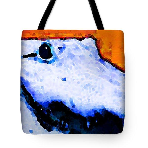 Gator Art - Swampy Tote Bag by Sharon Cummings