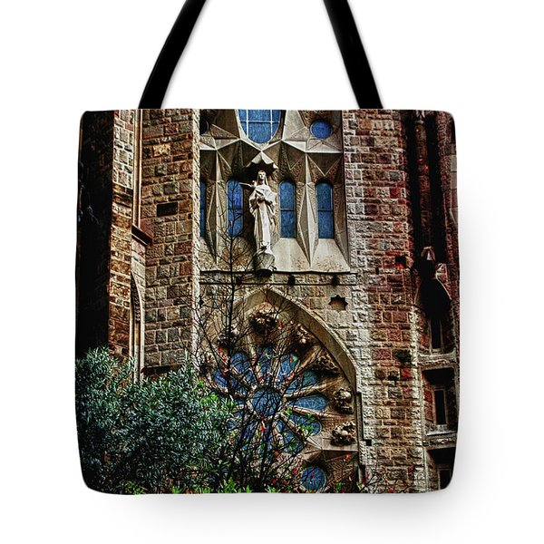 Gaudi Barcelona Tote Bag by Tom Prendergast