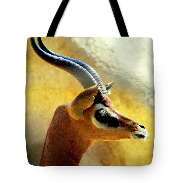 Gazelle Tote Bag by KAREN WILES