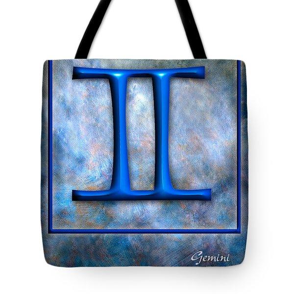Gemini  Tote Bag by Mauro Celotti