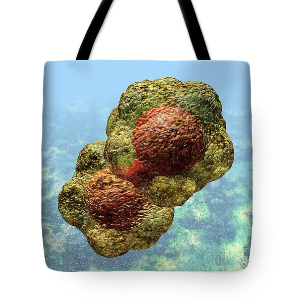 Geminivirus Particle Tote Bag by Russell Kightley