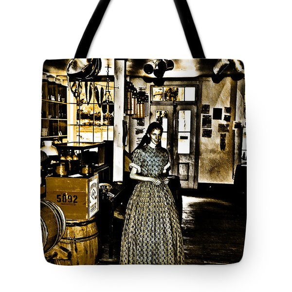 General Store Harpers Ferry Tote Bag by Bill Cannon
