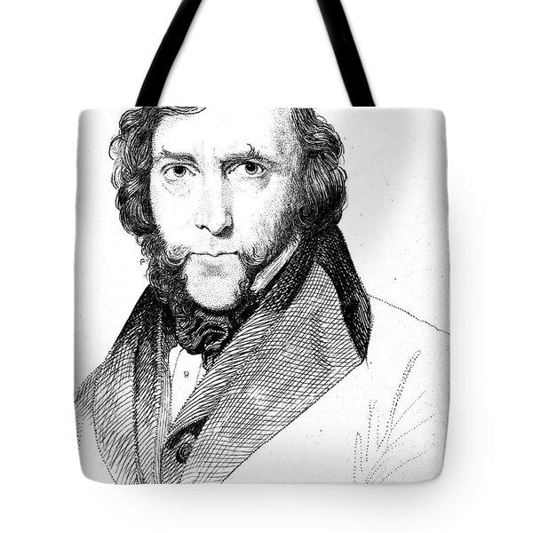 George Cruikshank (1792-1878) Tote Bag by Granger