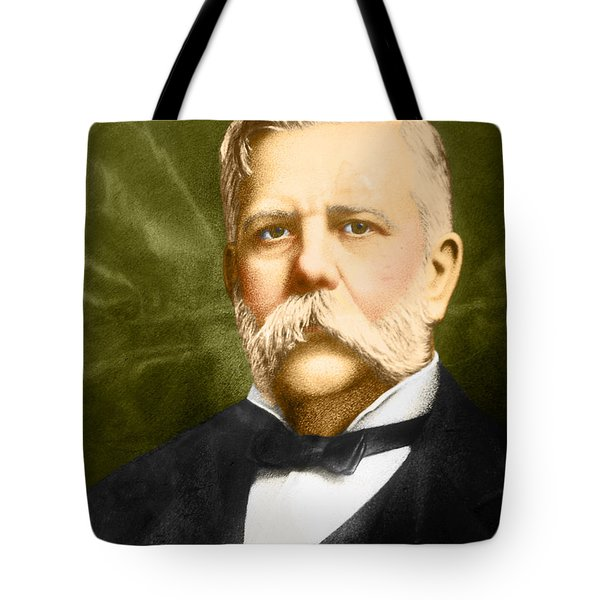 George Westinghouse Tote Bag by Photo Researchers