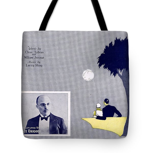 Get Out And Get Under The Moon Tote Bag by Mel Thompson