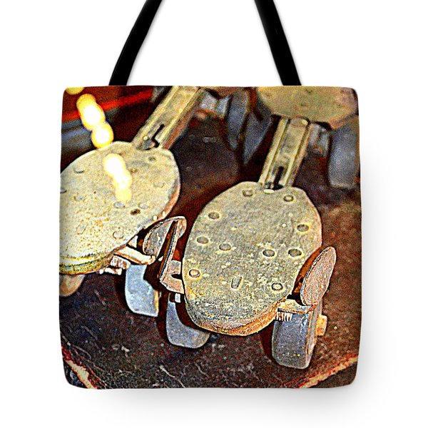 Get Your Skates On Tote Bag by Diane montana Jansson