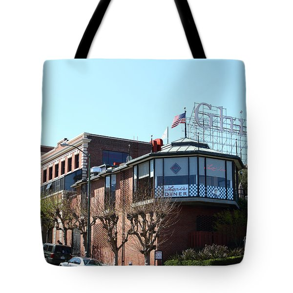 Ghirardelli Chocolate Factory San Francisco California . 7D14093 Tote Bag by Wingsdomain Art and Photography