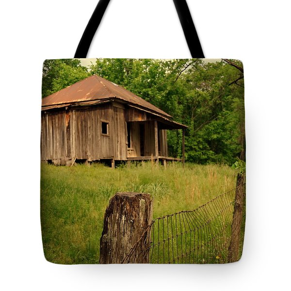 Ghost House Tote Bag by Marty Koch