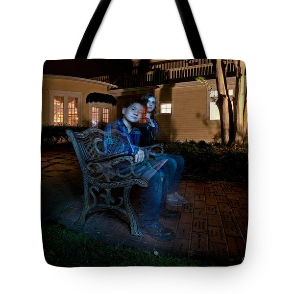 Ghostly Cousins Tote Bag by Christopher Holmes