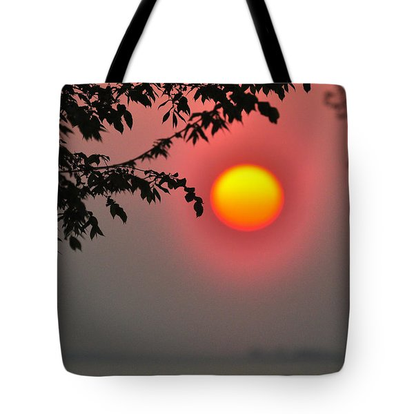 Gilded Sunrise Glow Tote Bag by Rebecca Sherman
