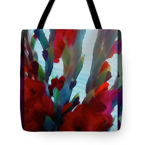Tote Bag featuring the digital art Glad by Richard Laeton
