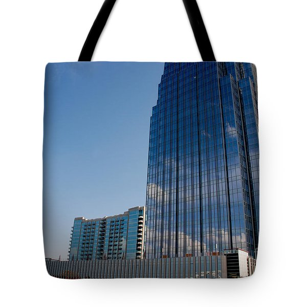 Glass Buildings Nashville Tote Bag by Susanne Van Hulst