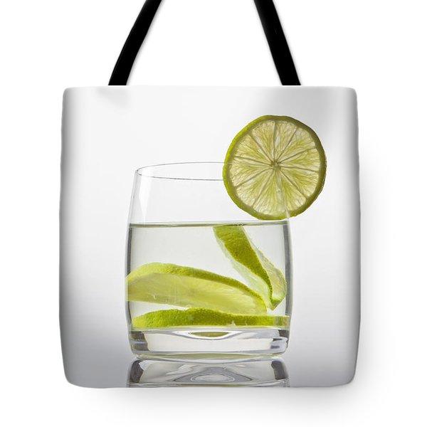 Glass With Lemonade Tote Bag by Joana Kruse