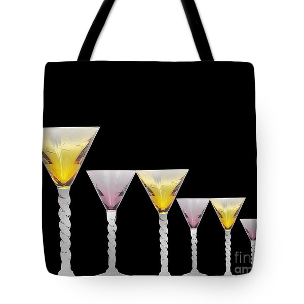Glasses Tote Bag by Cheryl Young
