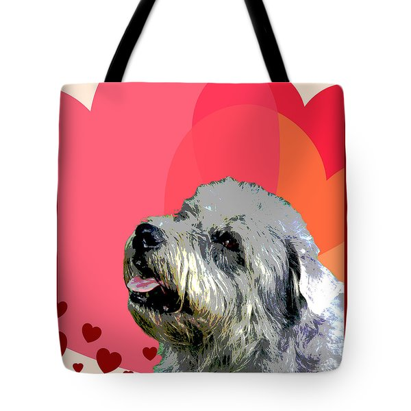 Glen Of Imaal Terrier Tote Bag by One Rude Dawg Orcutt
