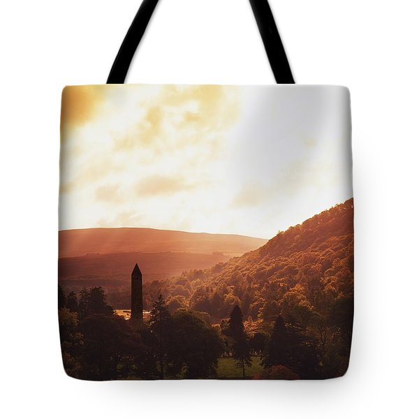 Glendalough, County Wicklow, Ireland Tote Bag by The Irish Image Collection