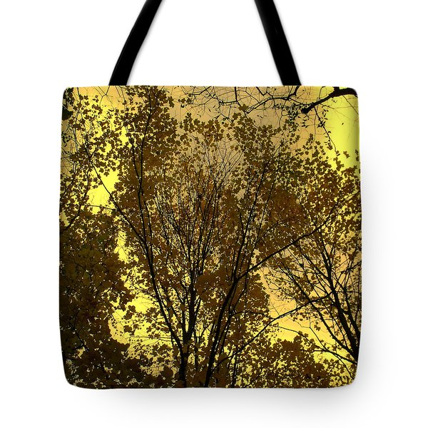 Glisten Tote Bag by Ed Smith