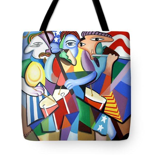 Glory Glory Tote Bag by Anthony Falbo