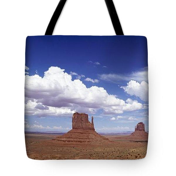 Glove Buttes And Clouds Tote Bag by Axiom Photographic