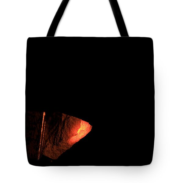Glowing Lime Limelight Tote Bag by Ted Kinsman