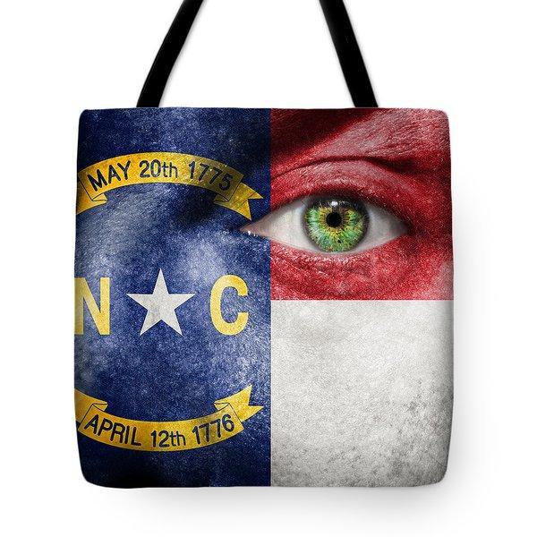Go North Carolina Tote Bag by Semmick Photo