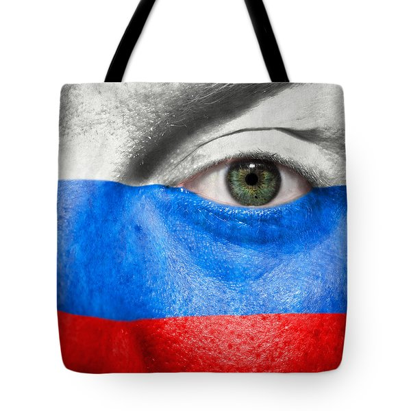 Go Russia Tote Bag by Semmick Photo
