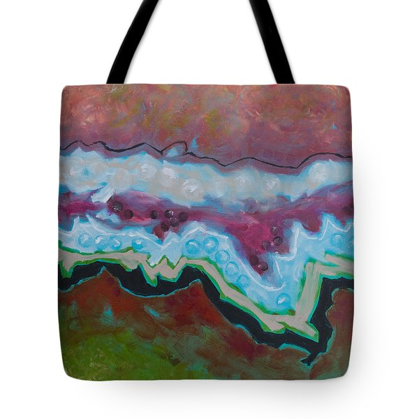 Go With The Flow 2 Tote Bag by Linda Krukar