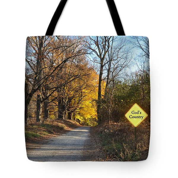 Gods Country Tote Bag by Bill Cannon