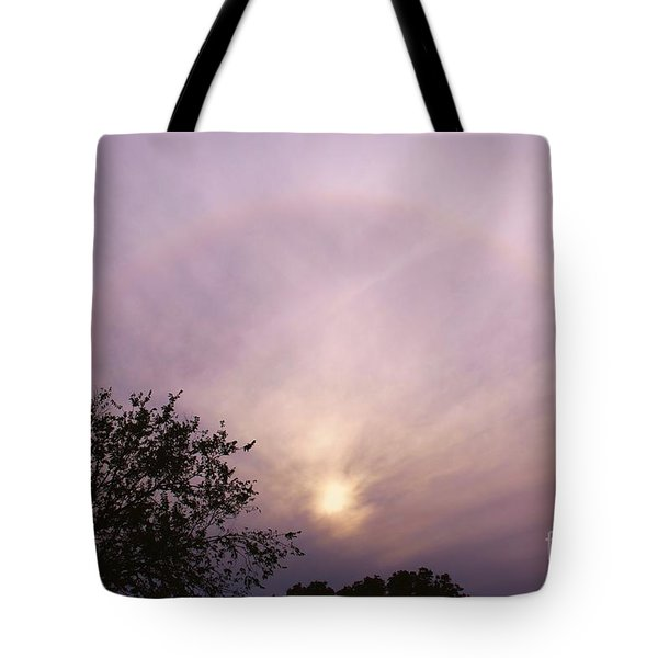 God's Masterpiece Tote Bag by Carolyn Wright