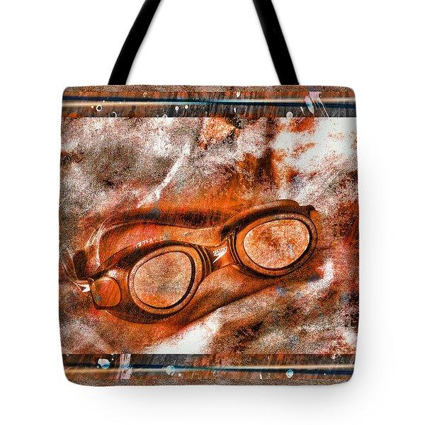 Goggles Tote Bag by Mauro Celotti