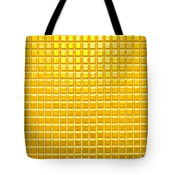 Gold Background Tote Bag by Tom Gowanlock