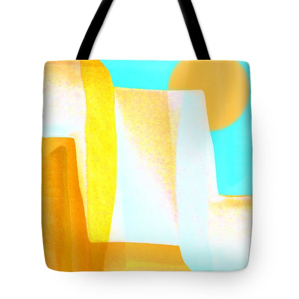 Golden Canyons Tote Bag by Carol Leigh