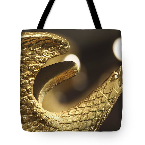 Golden Eagle Tote Bag by Mike McGlothlen