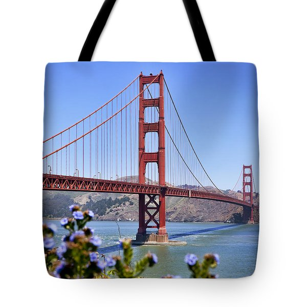 Golden Gate Tote Bag by Kelley King