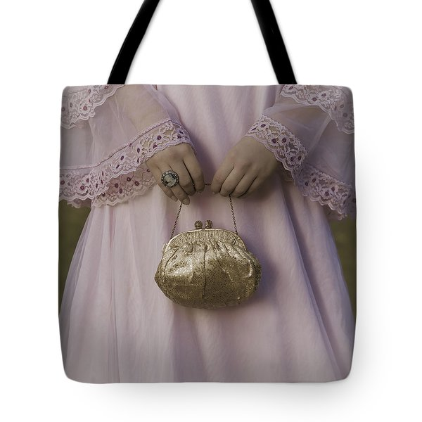 golden handbag Tote Bag by Joana Kruse