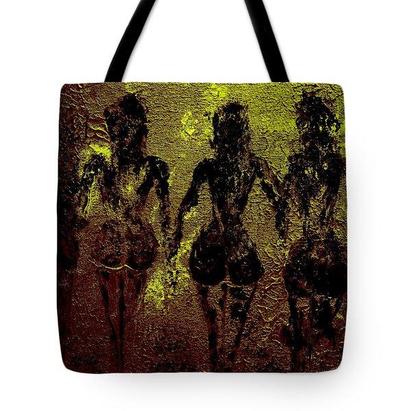 Golden Harmony Tote Bag by Piety Dsilva